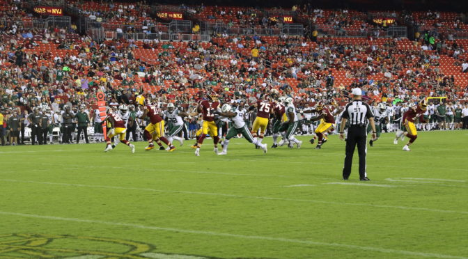 New York Jets vs. Washington Redskins, 8-16-18: In-game report